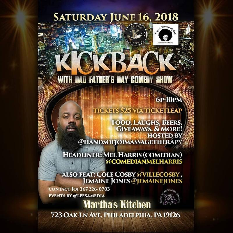 Kickback with Dad Father's Day Comedy Show
