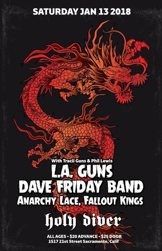 Dave Friday Band With L.A. Guns