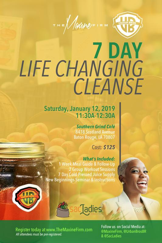 7 Day Life Changing Cleanse