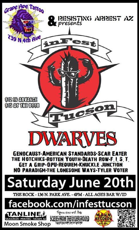 Grape Ape Tattoo Presents InFEST Tucson 3