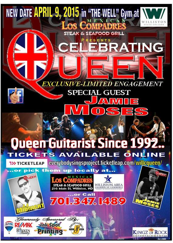 Celebrating Queen In Concert- Williston State College