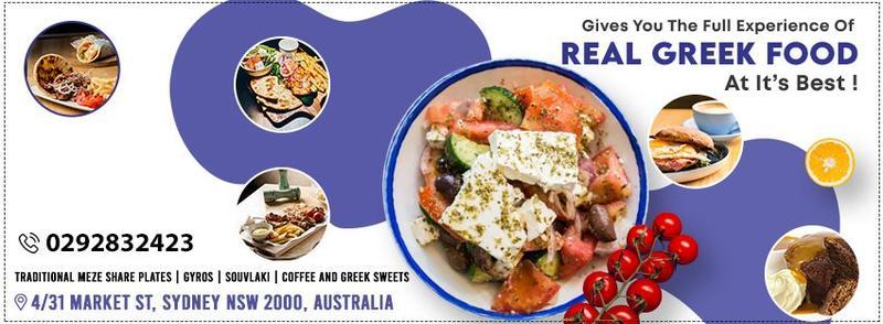 Online Event on Greek Restaurant in Sydney