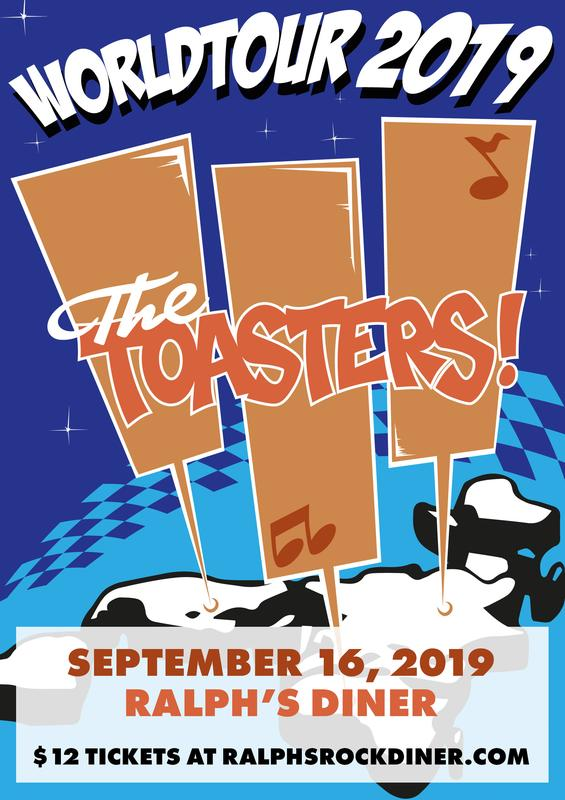 THE TOASTERS & more TBD