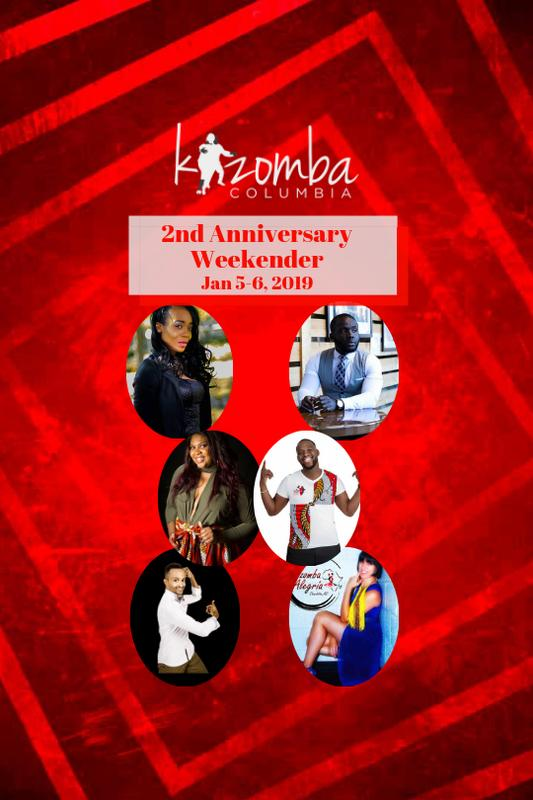 Kizomba Columbia Anniversary Weekender