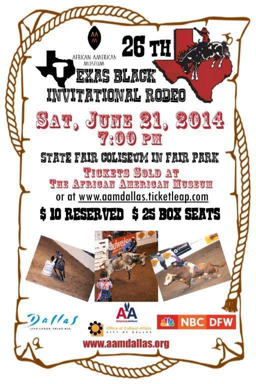 26th Texas Black Invitational Rodeo Tickets In Dallas Tx