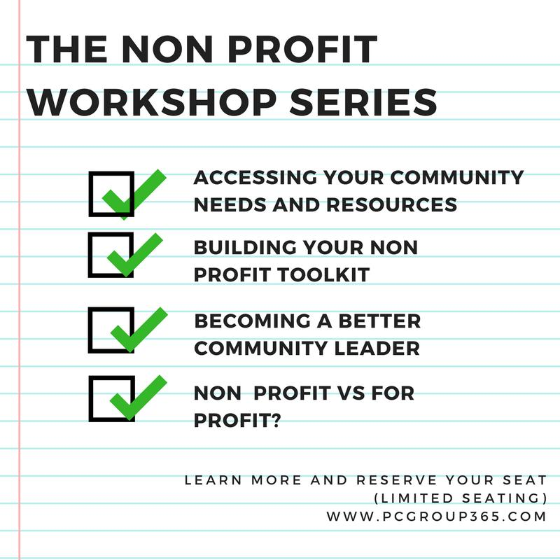 PC Group 365 presents The Non Profit Workshop Series