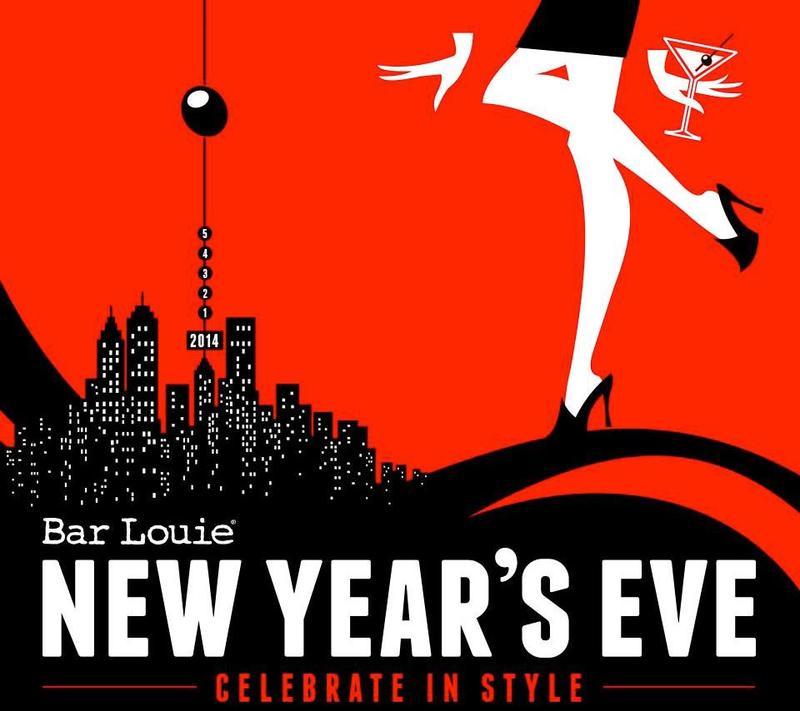 Bar Louie New Year's Eve 2015