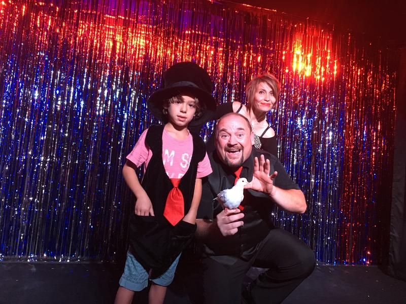 August 2018 - Magic Morgan's Little Magic Theatre