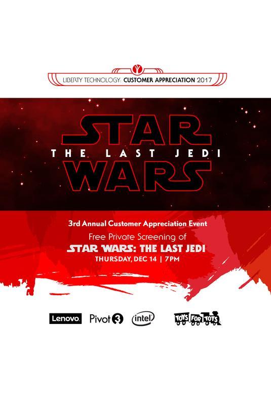 VIP: Customer Appreciation 2017 - Star Wars: The Last Jedi