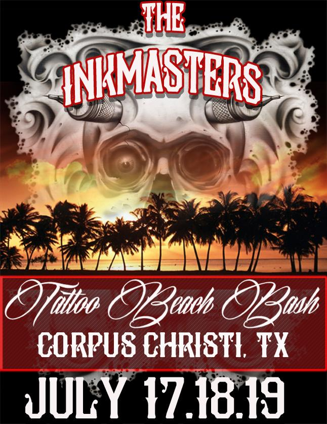 Corpus christi inkmasters tattoo convention tickets in for Tattoo corpus christi