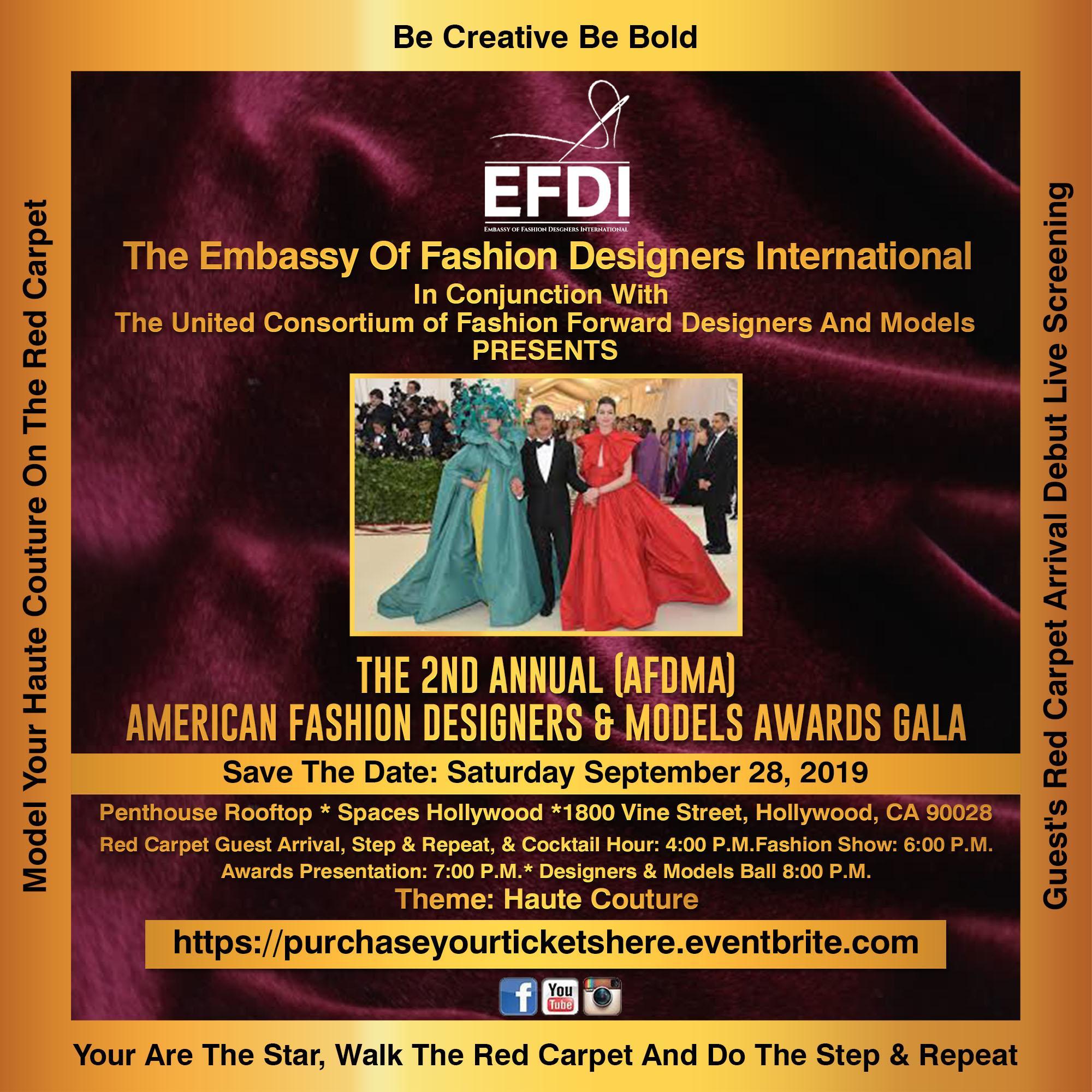 Embassy Of Fashion Designers International Tickets