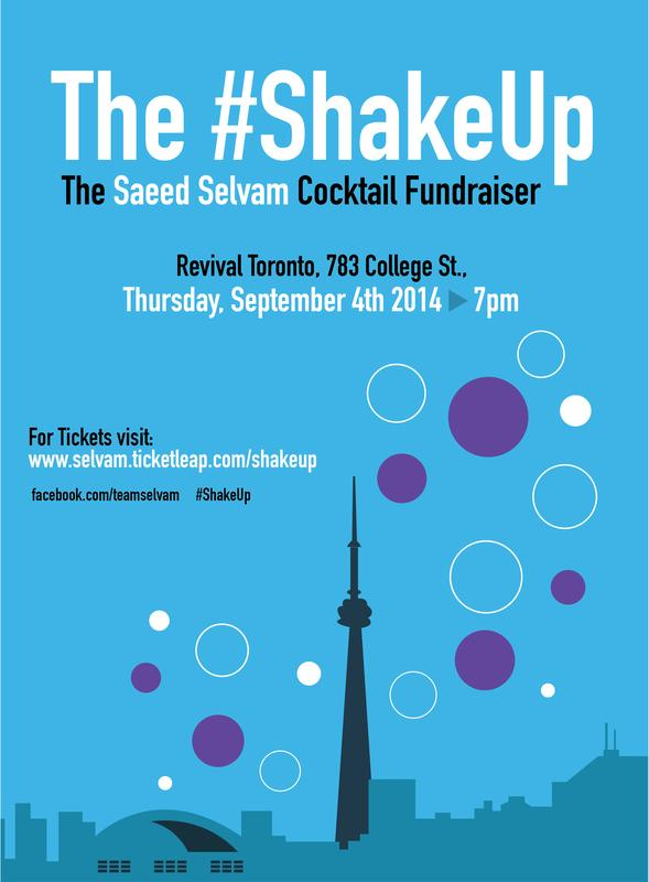The #ShakeUp- The Saeed Selvam Campaign Fundraiser