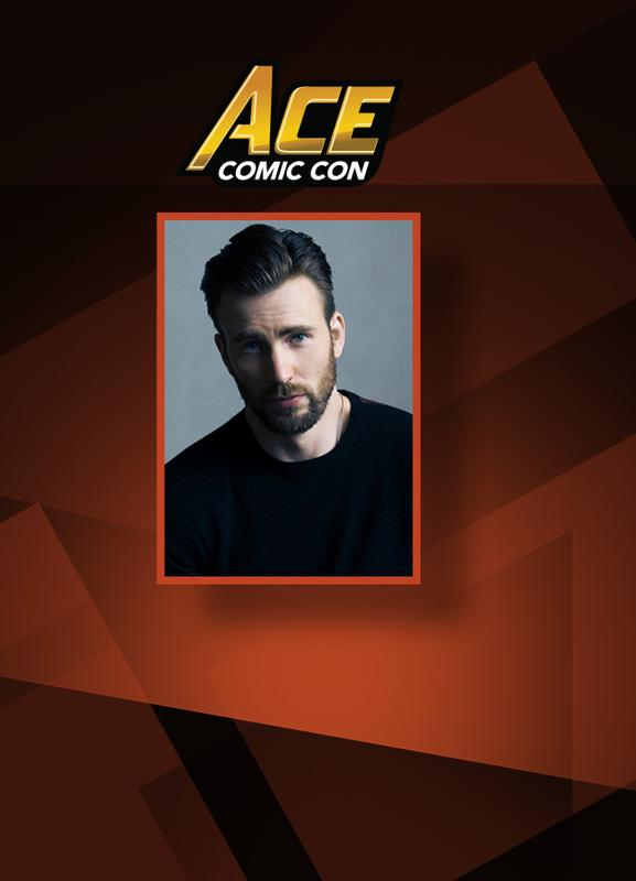 Chris Evans VIP @ ACE Comic Con ARIZONA 2018 **AUTOGRAPH IS PRE-SIGNED & CERTIFIED BY JSA**