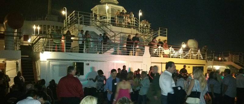 "HUGE Queen Mary ""Summer Dance Deck"" Party"
