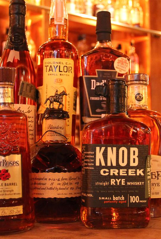 Bourbon and Rye