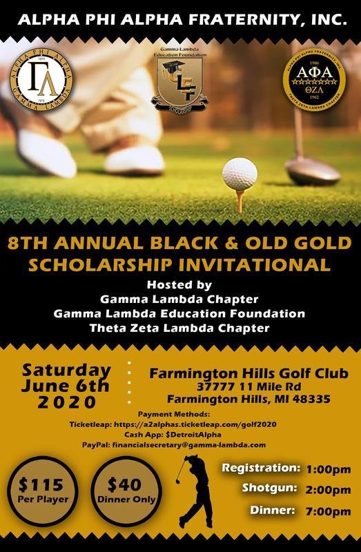 Black & Old Gold Scholarship Golf Invitational