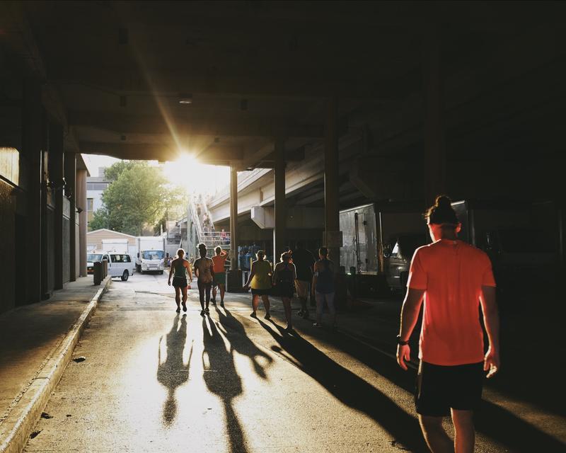hgAthletics Philly Run with Angelena
