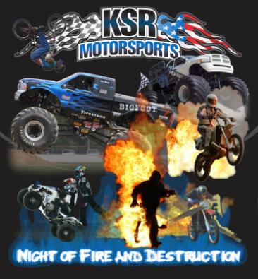 Monster Truck and Motorcycle Thrill Show