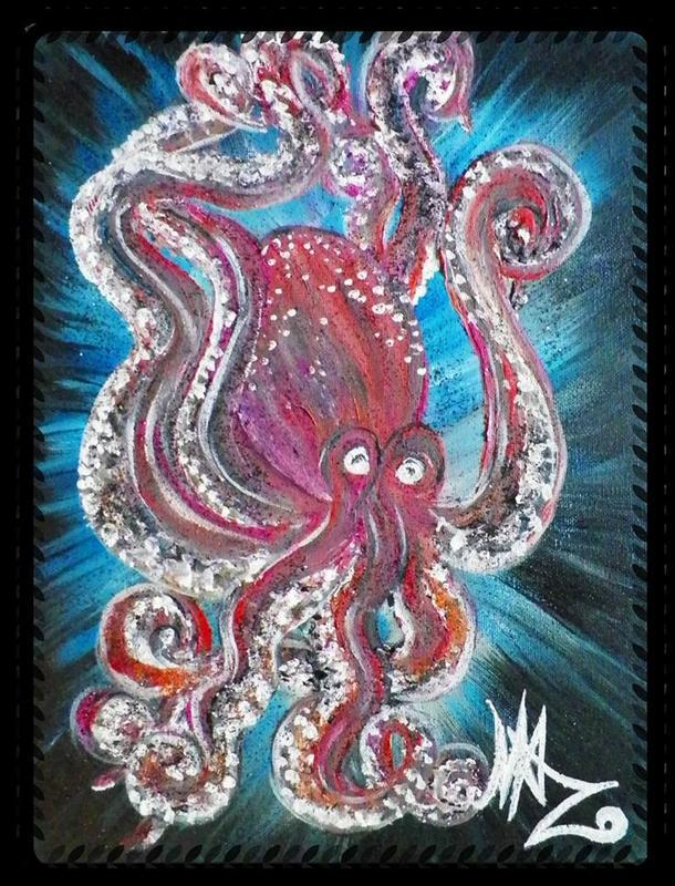 Smokey Bones Octopus