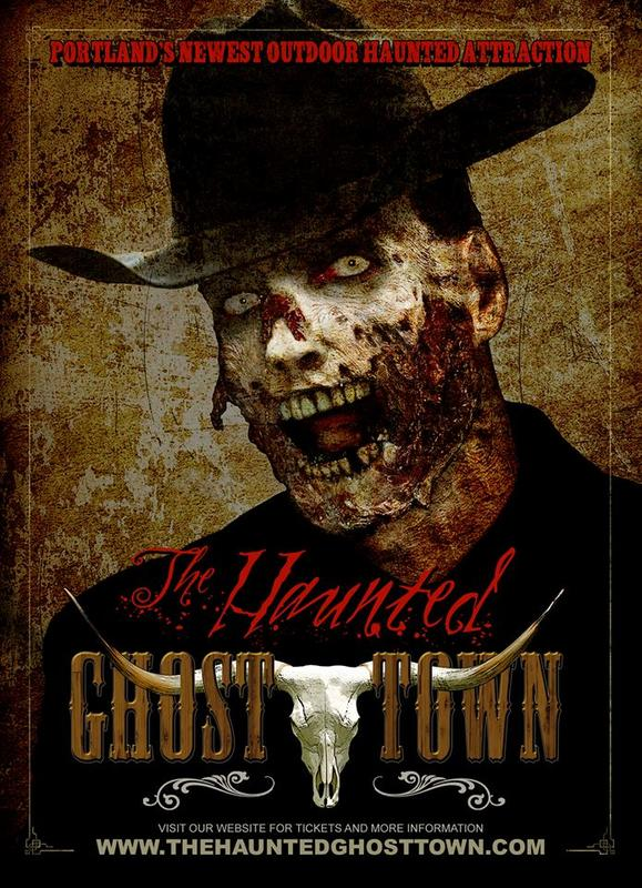 The Haunted Ghost Town 2014