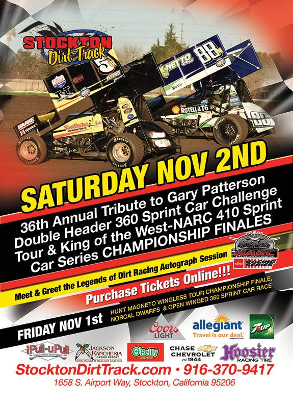 Chase Chevrolet Stockton >> November 2nd 36th Gary Patterson Scct And King Of The West