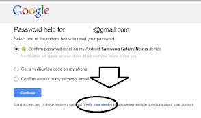 i forgot my Google account password how to recover it