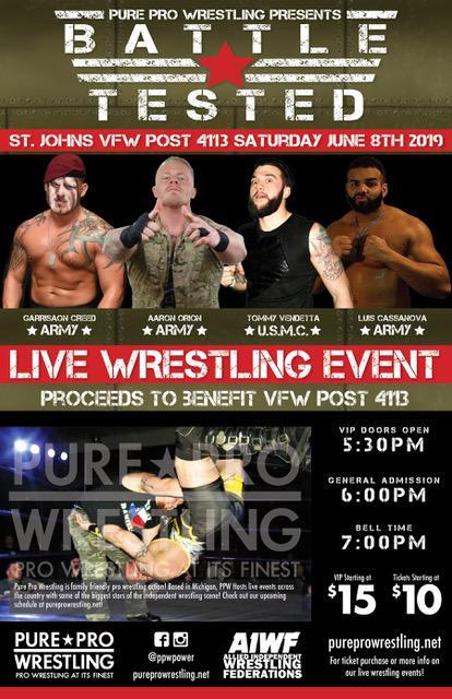 Battle Tested, VFW Post 4113, St Johns, MI