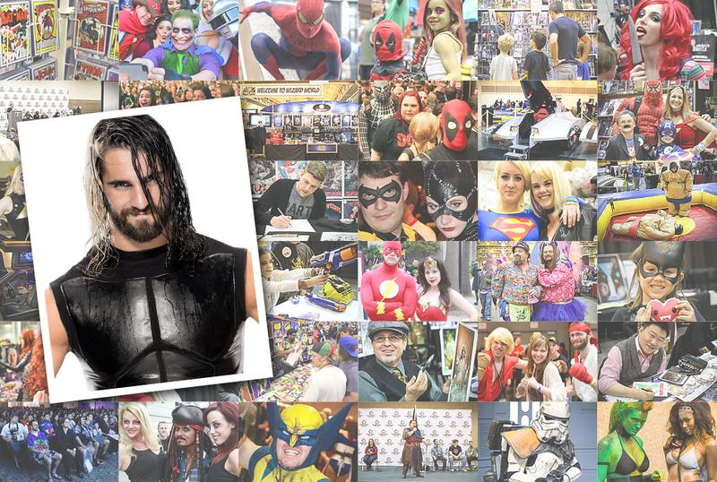 WWE® Superstar Seth Rollins™ VIP @ Wizard World Comic Con PHILADELPHIA 2016