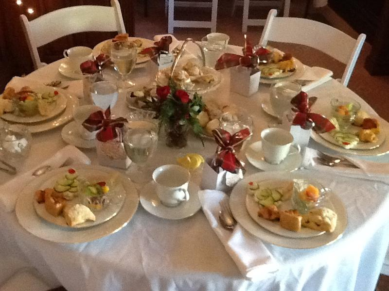 Christmas Tea and Conversation SOLD OUT
