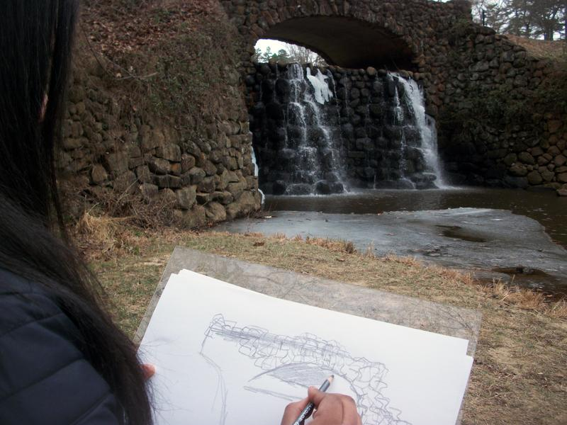 Family First: En Plein Air Drawing Workshop