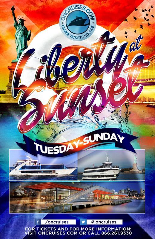 Liberty at Sunset Cruise - Saturdays