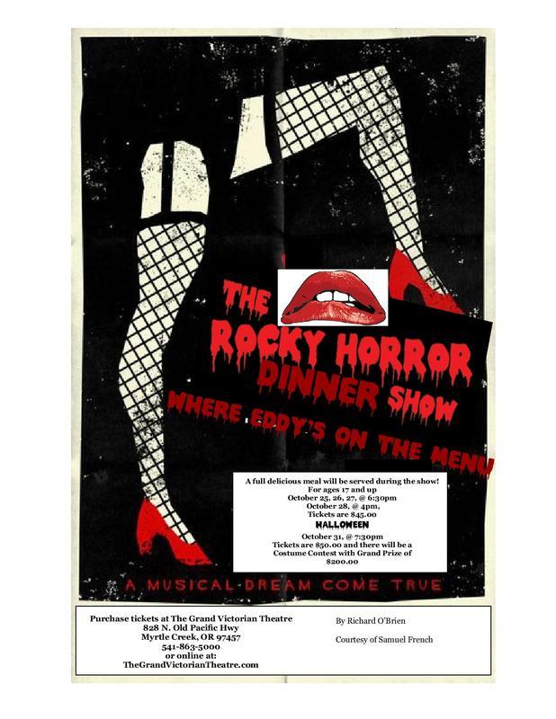 Halloween Night Rocky Horror Dinner Show