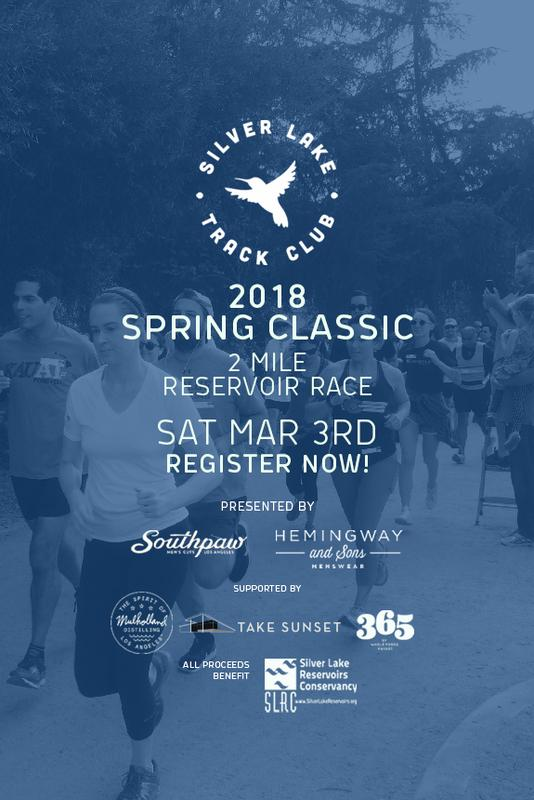 Silver Lake Track Club: 2018 Spring Classic 2 Mile Reservoir Run