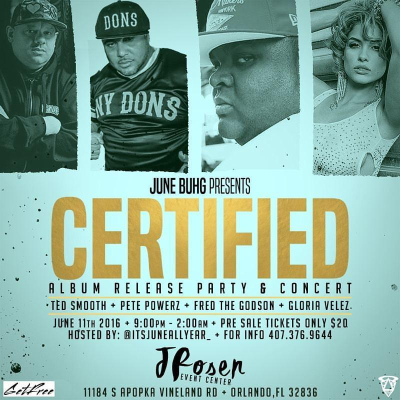 Certified - The Album Release Party & Concert