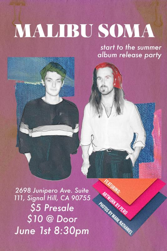 Malibu Soma Start to the Summer Album Release