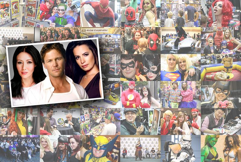 Charmed VIP Experience @ New Orleans Comic Con 2015