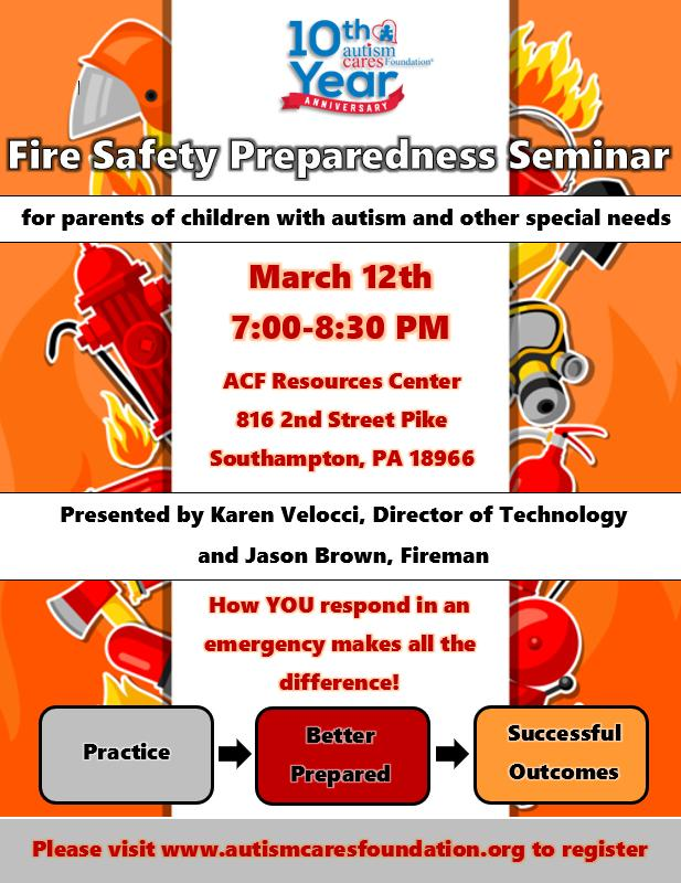 Fire Safety Preparedness Seminar