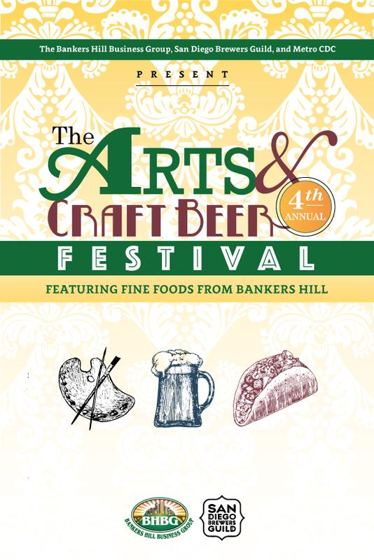 Bankers Hill Arts & Craft Beer Festival