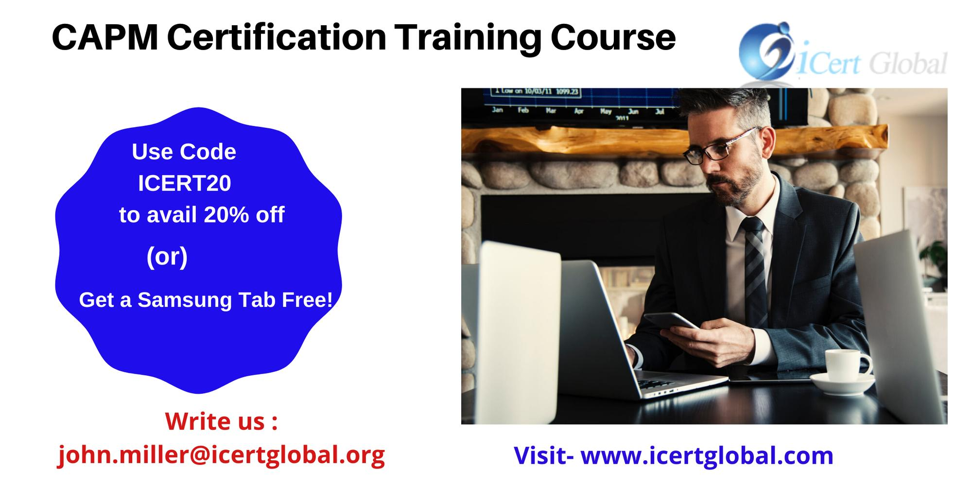 CAPM Certification Training Course in Tampa, FL