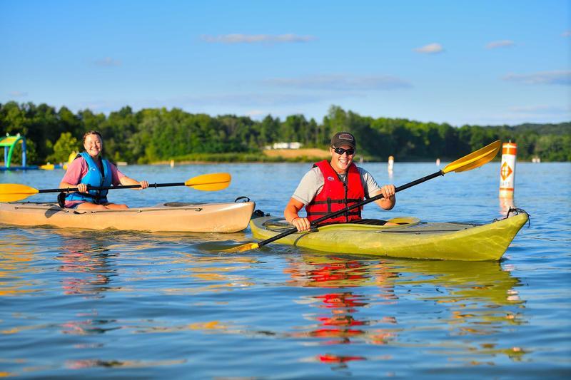 Learn to Kayak at Atwood Lake Park