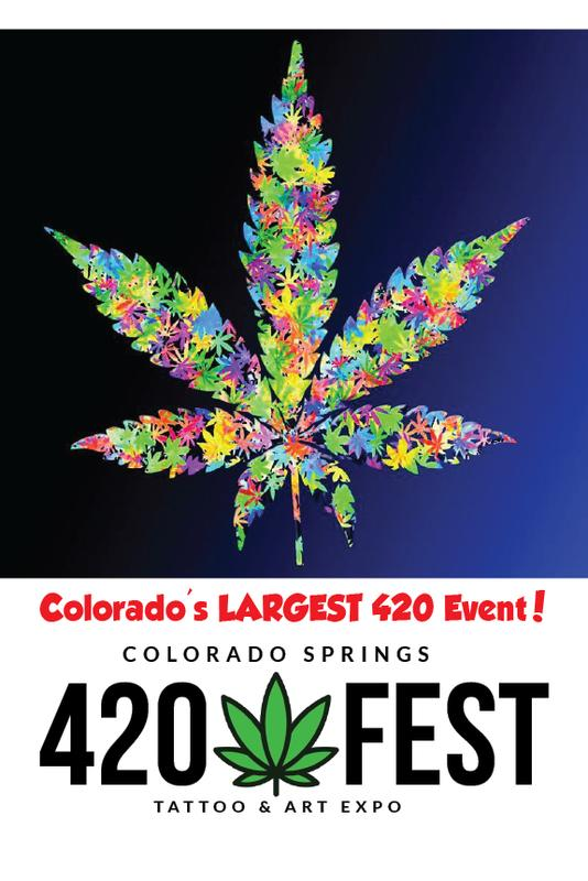 Colorado Springs 420 Fest and Tattoo Art Expo