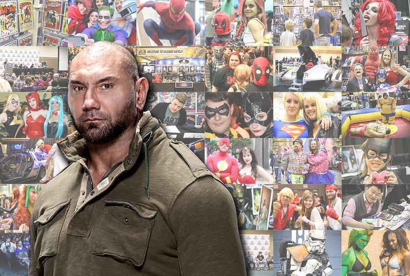 Dave Bautista  (WWE® Batista™) VIP @ Columbus 2015
