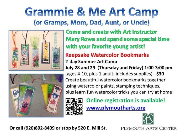 Grammie & Me Art Camp