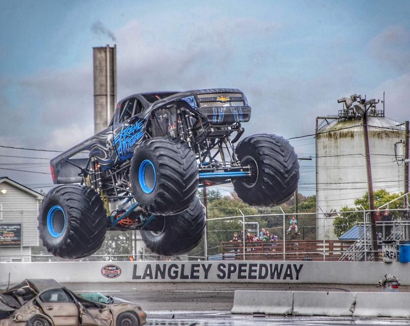 Monsters Extreme Showdown at Langley Speedway June 13th