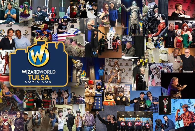 Wizard World Comic Con TULSA 2016 VIP Package + 3-Day Weekend