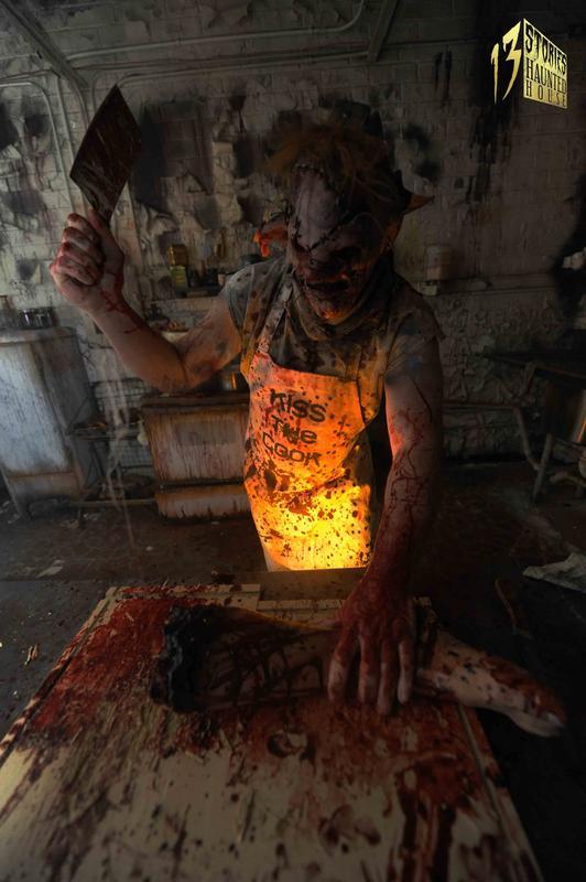 13 Stories Haunted House Newnan, GA 2014