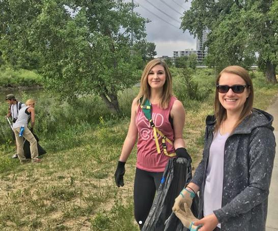 S Platte River Trail Clean-up Denver