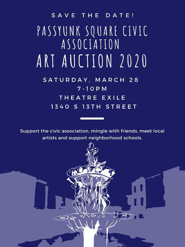 Passyunk Square Art Auction 2020
