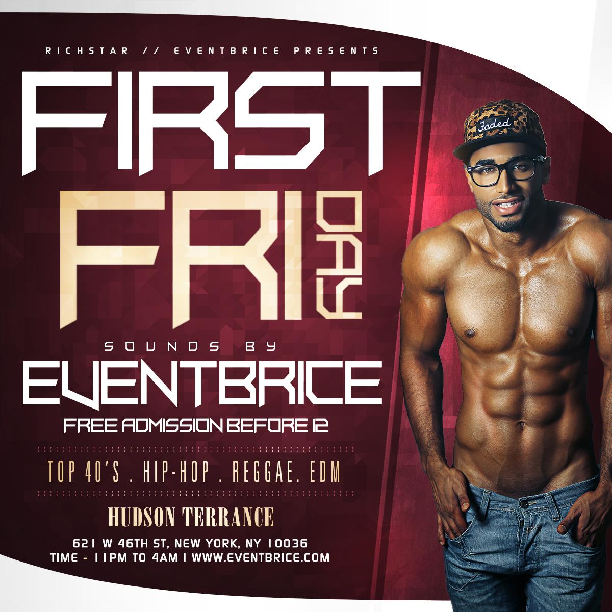 First Friday at Hudson Terrace Featuring Adult Entertainer