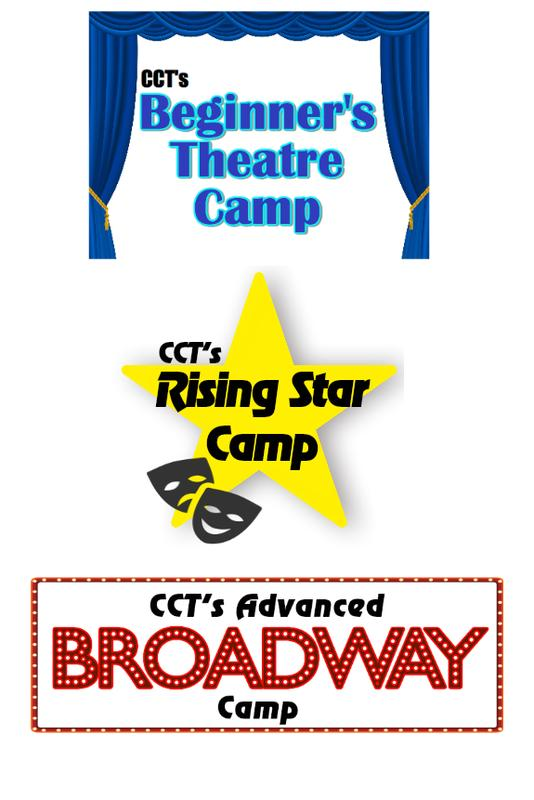 CCT's Summer Theatre Camps 2018
